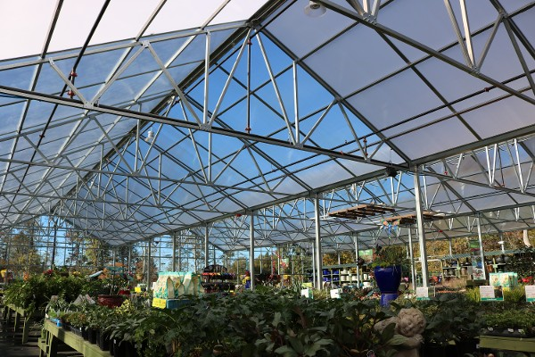 Trussed Structure Greenhouse